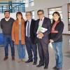 Reunión en Liceo Francisco Bascuñán Guerrero de Quilleco