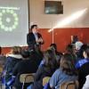 PACEUdeC participa en reunión apoderados en Liceo Republica de Israel