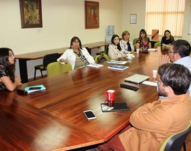 Equipo CADE-PACEUdeC se reúne con investigadoras de Proyecto sobre Retención y Permanencia Estudiantil